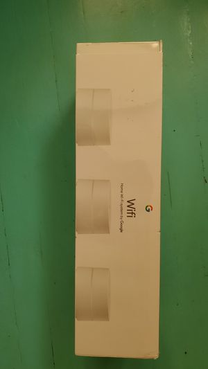 Google Wifi Solution Router Replacement 3pk - White for Sale in Chicago, IL