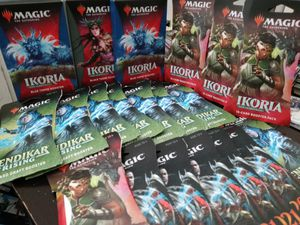 Reduction ! Reposting! Large magic the Gathering card game packs for Sale in Portland, OR