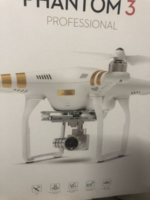 Dji phantom3 professional GPS 4K Camera for Sale in Pittsburg, CA
