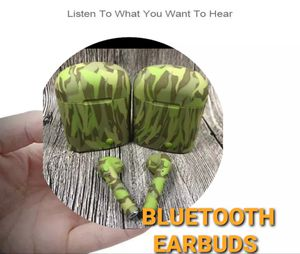 New model 2020 camouflage bluetooth HD earbuds for Sale in Fontana, CA