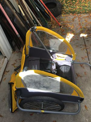 2child Sunlite Bicycle Trailer for Sale in Mesa, AZ