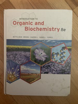 Introduction to Organic and Biochemistry 8e for Sale in Seattle, WA