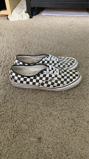 Vans authentic checkerboard size 10.5 men's for Sale in Los Angeles, CA