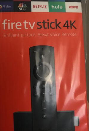 New Fire TV Stick 4K w/ Alexa Voice Remote 2 for Sale in Portland, OR