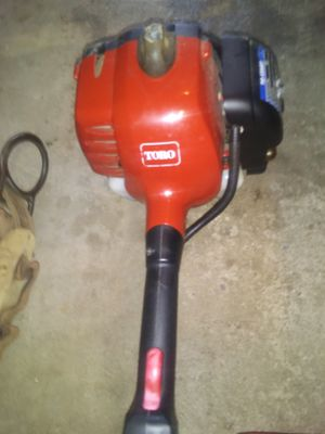 Power head toro with straifht shaft for weed wacker. You can uae other attachmenys for Sale in Pittsburgh, PA