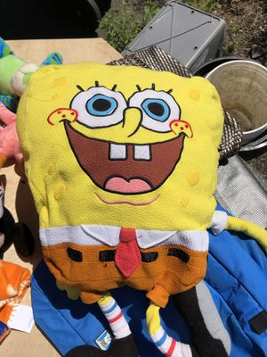 Giant spongebob 🧽 plush toy stuffed animal Nickelodeon for Sale in Albany, OR