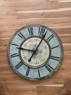 Decorative wall clock for Sale in Leesburg, VA