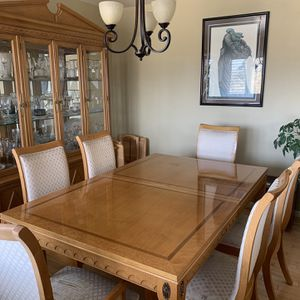 Dining Room Set With Cabinet for Sale in Seaside, CA