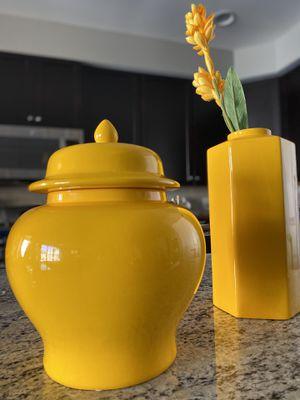 Canary Glaze Vases for Sale in Greenbelt, MD