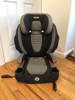 Recaro performance booster high back car seat for Sale in Rutherford, NJ