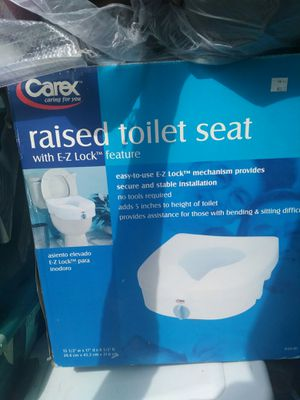 Raised toilet seat for Sale in MD, US