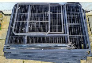 """Exercise Barrier Fence Metal 24"""" Tall for Pet Dog Puppy Cat 16 Panels (FABUDERFUL) for Sale in Greencastle, PA"""