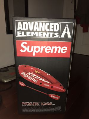 Supreme kayak never opened.... (only today and tomorrow! 1/4-1/5) for Sale in Woodbridge, VA