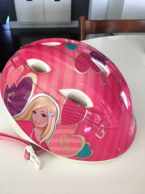 Kids toddler Barbie bike bicycle scooter helmet size 50-52 cm for Sale in San Diego, CA