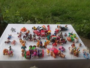 77various 1966-early 1990s minitures, All marked! (Mcdonalds,7-11,Arbys,Wendys,Simpsons,Disney ect) for Sale in Rockville, MD