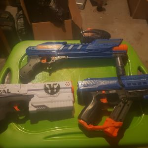 Nerf Rival Kronos / X-Shot Meteor / Adventure Force Powerball for Sale in Grain Valley, MO