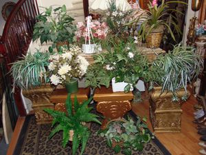 10 silk plants with pots only for $45 for Sale in Las Vegas, NV