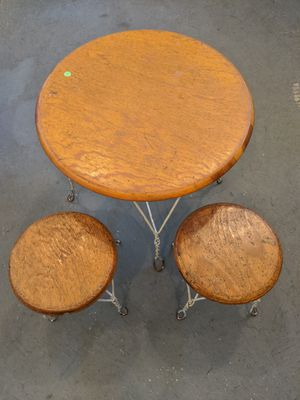 Antique children's table and chairs for Sale in Lemont, IL