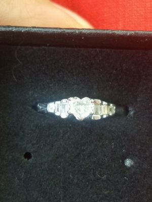 Heart Cut Diamond Engagement Ring for Sale in Tuscola, TX