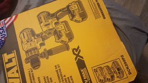 Dewalt combo impact and hammer drills XR 3 speeds for Sale in Minneapolis, MN