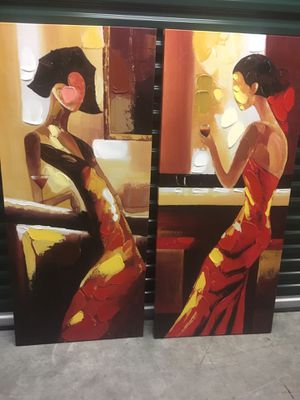 2 abstract art pieces for Sale in Miami, FL