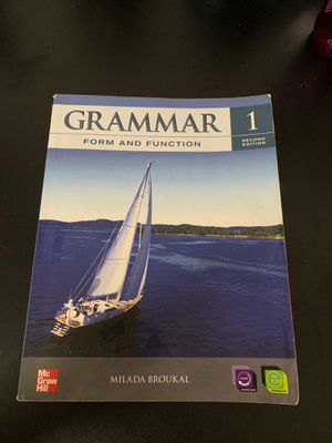 Grammar 1 second edition book for Sale in Phoenix, AZ