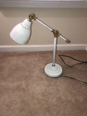 White and Gold Desk Lamp for Sale in Manassas Park, VA