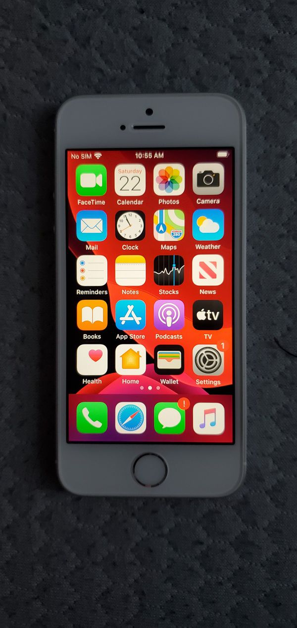 IPhone SE Carrier Unlocked