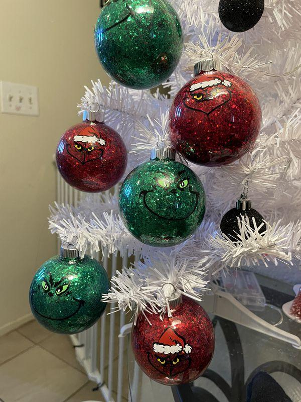 Grinch Ornaments