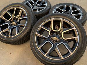 """22"""" Chevy Silverado Wheels Tires Tahoe Rims GMC Yukon Escalade Sierra for Sale in Rio Linda, CA"""
