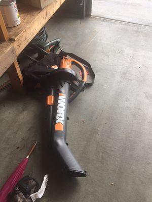 worx leaf blower mulcher trivac for Sale in Kirkland, WA