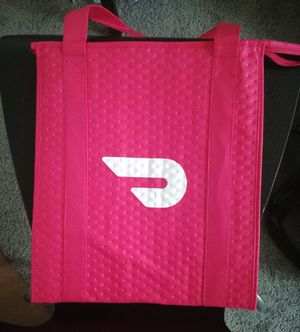 Brand new door dash insulated bag insulation bag cooler bag for Sale in Houston, TX