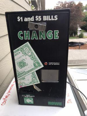 Arcade Change Machine for Sale in Puyallup, WA
