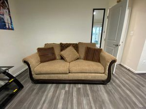 2 couch set + sofa bed for Sale in Stone Ridge, VA