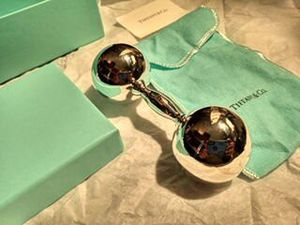 Silver Tiffany and co rattle for Sale in San Antonio, TX
