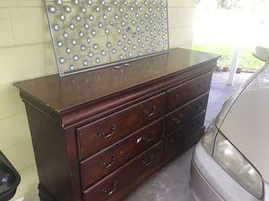 Wood Dresser for Sale in Tampa, FL