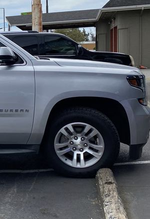 """Chevy 18"""" rims and tires for Sale in Tacoma, WA"""