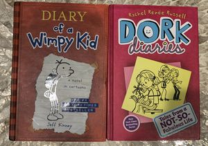 LOT Diary of a Wimpy Kid and Dork Diaries Books (Value $27) for Sale in Brooklyn, NY