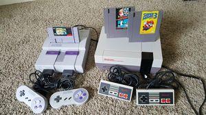 Nintendo NES & SNES Bundle for Sale in Sacramento, CA