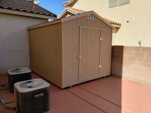 New storage sheds installed on site 8x10 $1325 for Sale in Las Vegas, NV