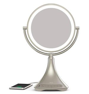 """iHome All-in-One, 7X Magnify, 9"""" 2-Sided LED Makeup Mirror, Bright LED Light Up Mirror, Natural Light, Double-Sided Vanity Mirror for Sale in Sunrise Manor, NV"""