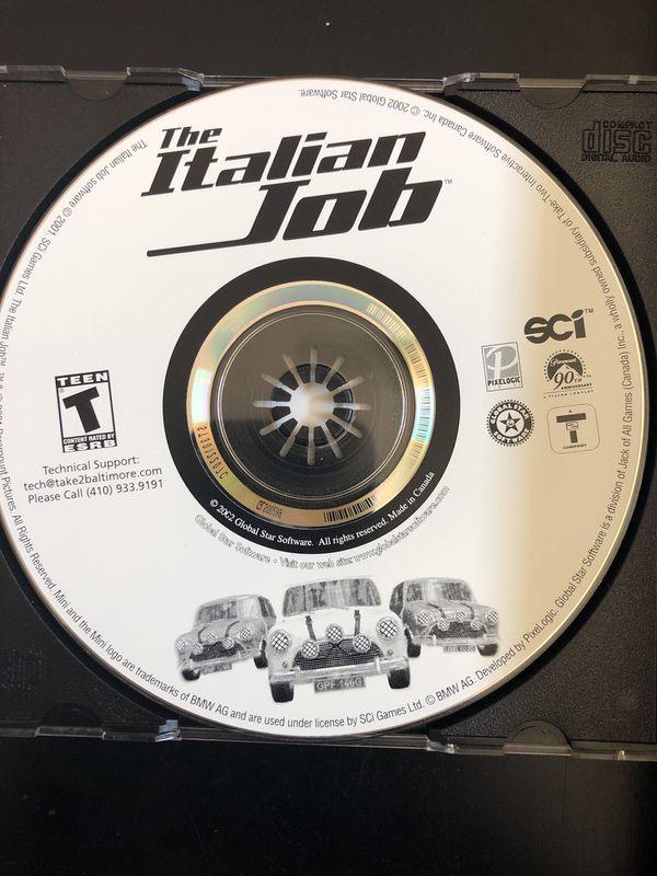 The Italian Job PC CD-ROM Game. Windows 98/ME/2000/XP.