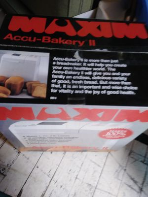 A BREAD MAKER for Sale in Newark, NJ