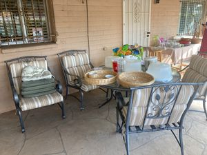Patio table and 5 chairs and bar for Sale in Phoenix, AZ