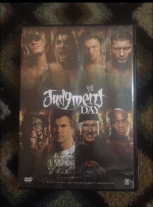 2007 Judgement Day dvd for Sale in Milnesville, PA