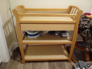 Baby changing table for Sale in North Smithfield, RI