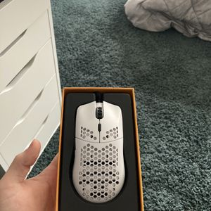 Matte white Glorious PC gaming race Model O lightweight gaming mouse for Sale in Woodbridge, VA