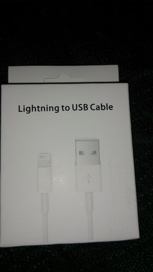 New Apple iPhone 📱 Lighting cable 3 feet give me a offer for Sale in Los Angeles, CA