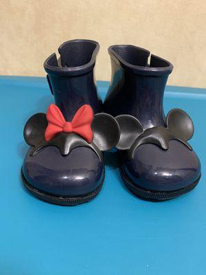 Disney rain boots girls, size 7 US for Sale in Skokie, IL