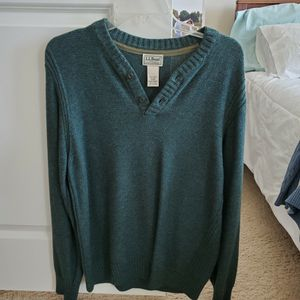 Green L.L. Bean Sweater Fleece for Sale in Gainesville, VA